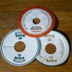 Hochwertige Pilstropfdeckchen für Bars und Kneipen
